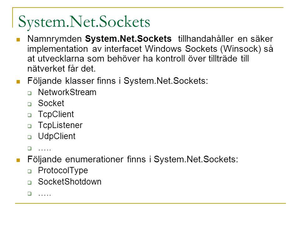 System.Net.Sockets