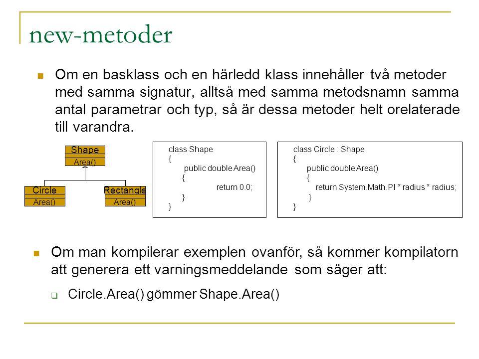 new-metoder