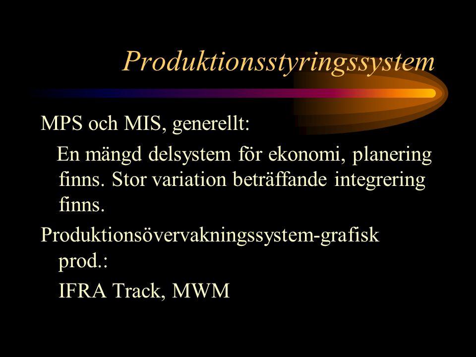Produktionsstyringssystem