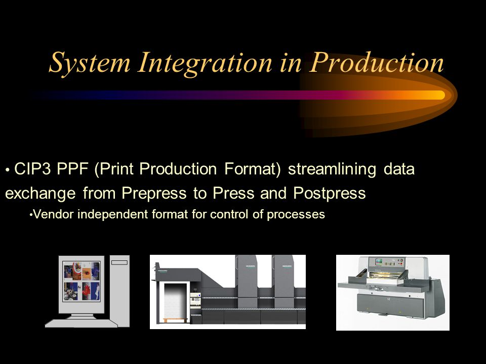System Integration in Production