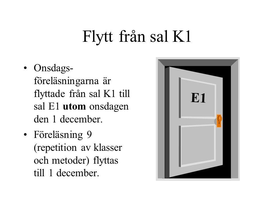 Programmeringsteknik för K och Media