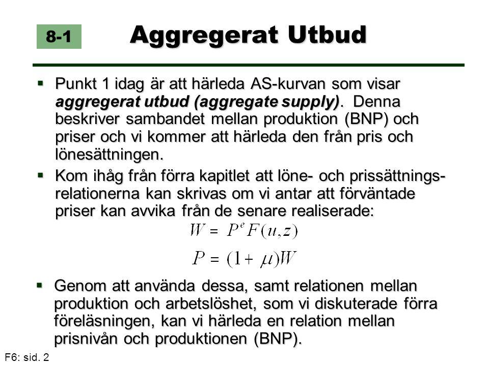 Aggregerat Utbud 8-1.