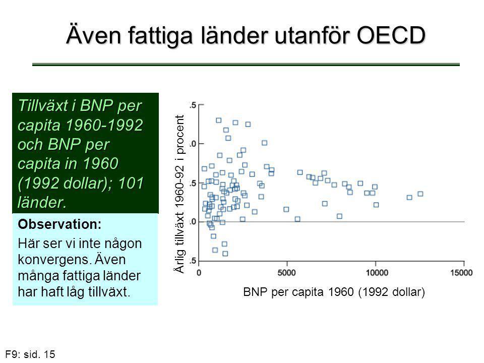 Även fattiga länder utanför OECD