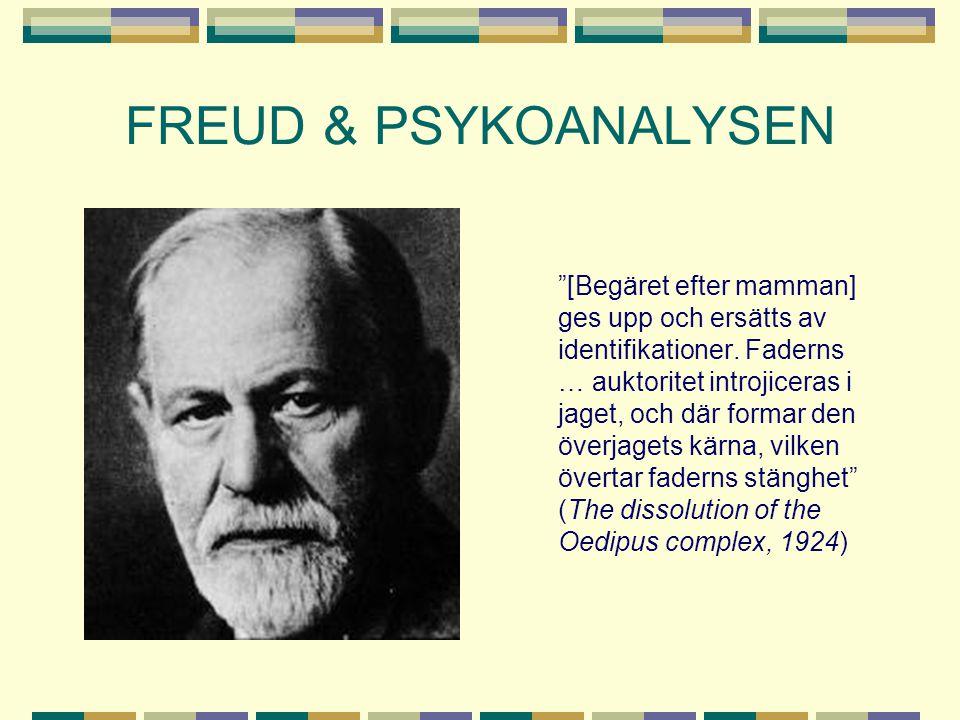 FREUD & PSYKOANALYSEN