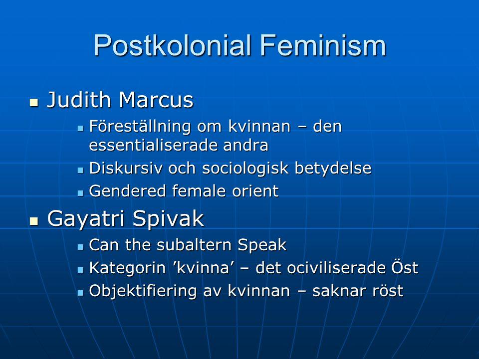 Postkolonial Feminism