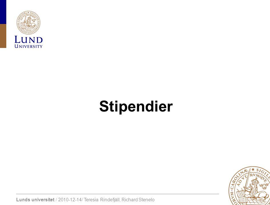 Stipendier