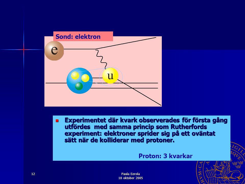 Sond: elektron