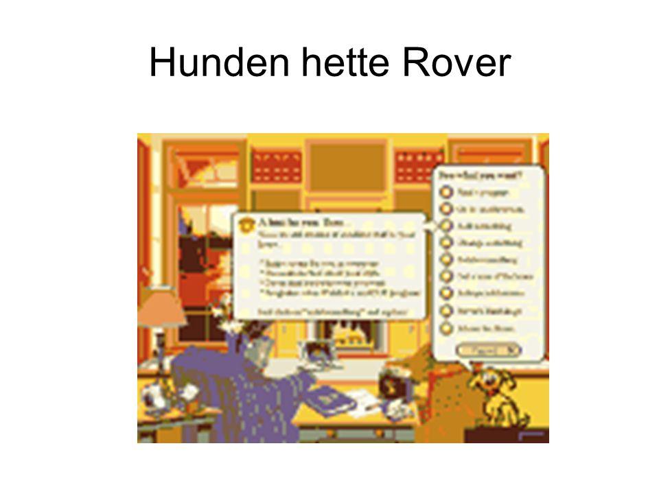 Hunden hette Rover