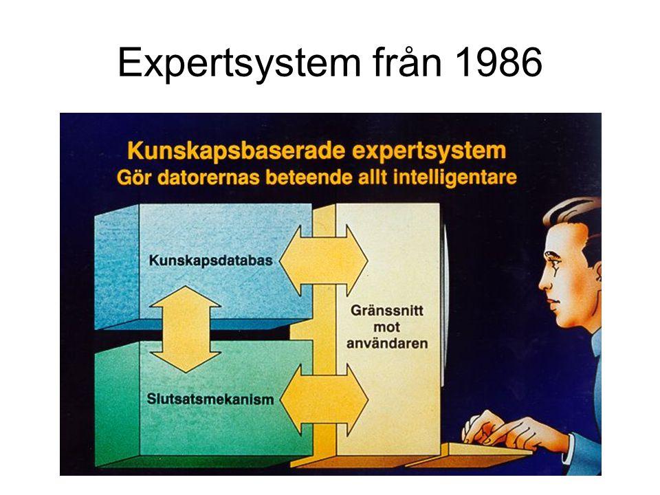 Expertsystem från 1986