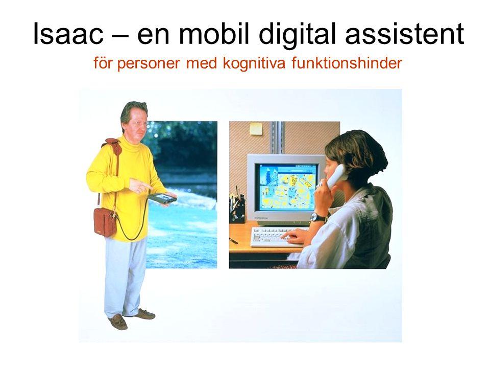 Isaac – en mobil digital assistent för personer med kognitiva funktionshinder