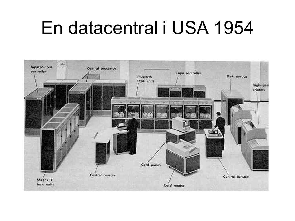 En datacentral i USA 1954