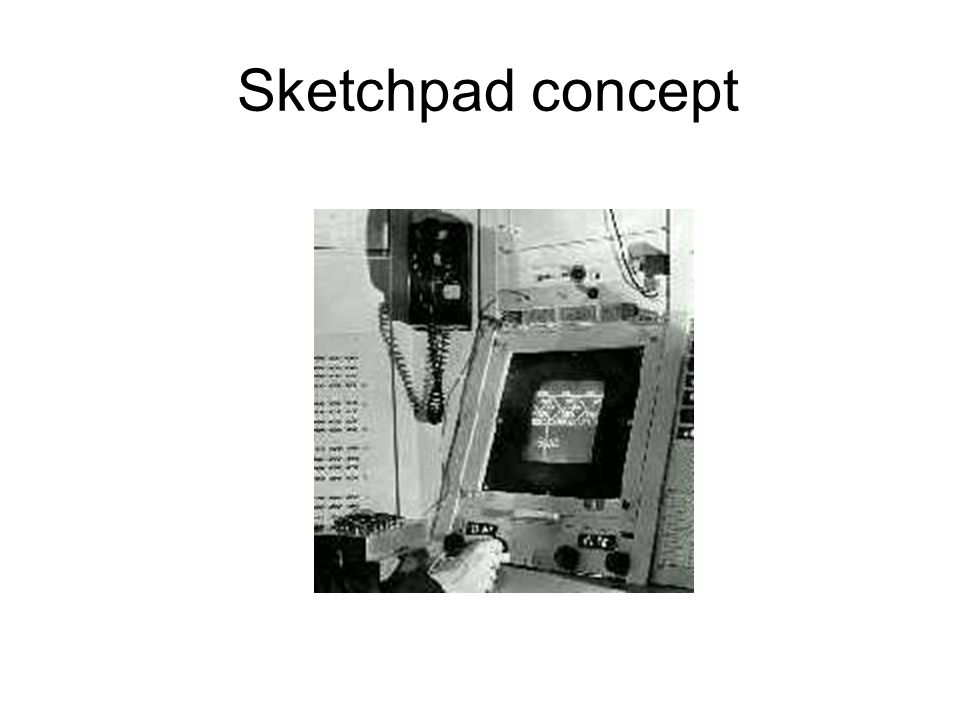 Sketchpad concept