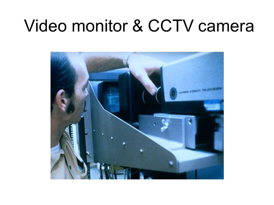 Video monitor & CCTV camera