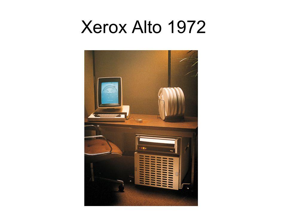 Xerox Alto 1972