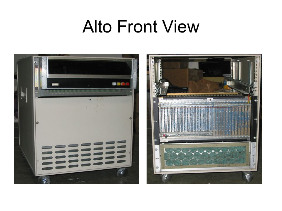 Alto Front View