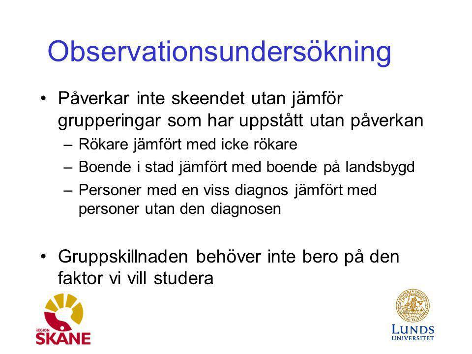 Observationsundersökning
