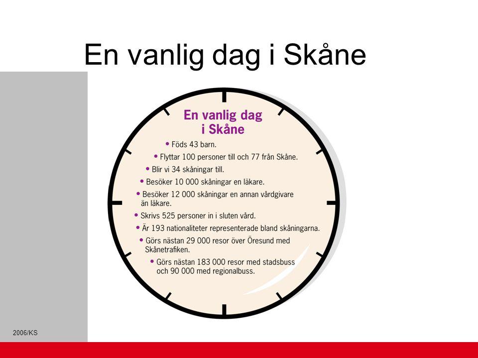 En vanlig dag i Skåne