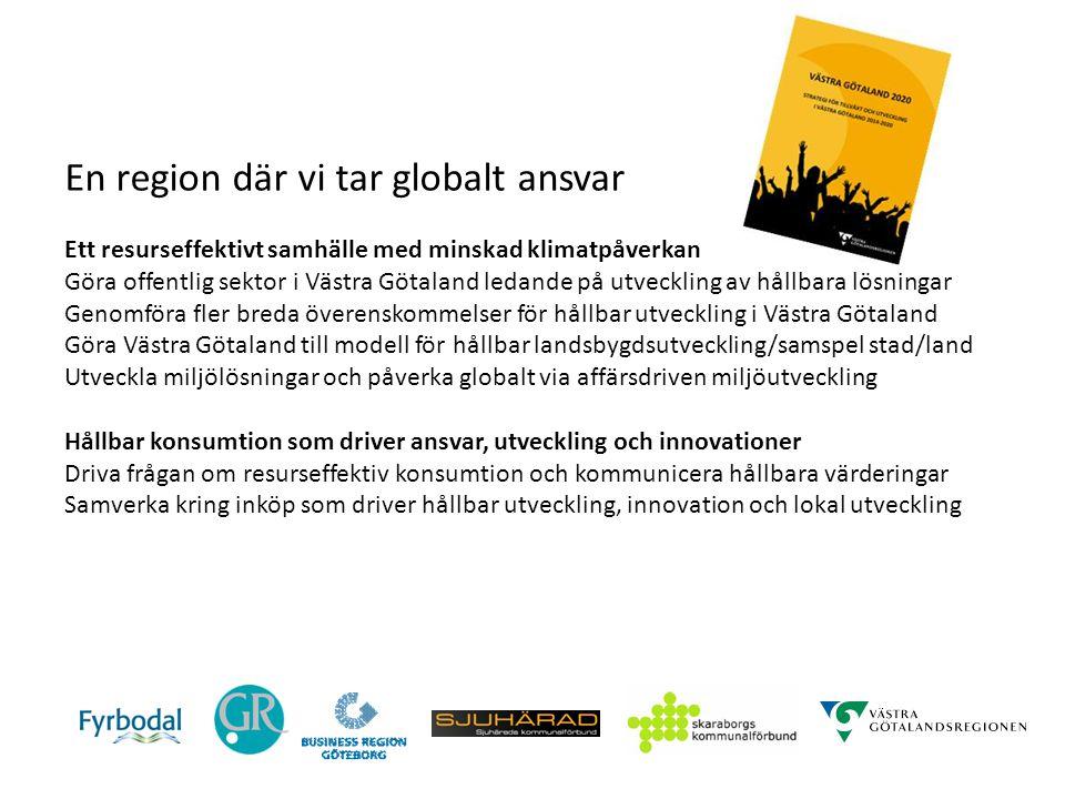 En region där vi tar globalt ansvar