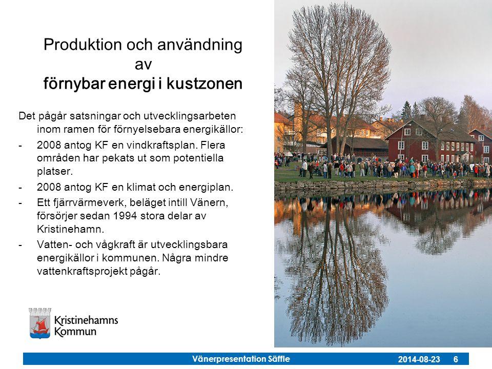 Produktion och användning av förnybar energi i kustzonen