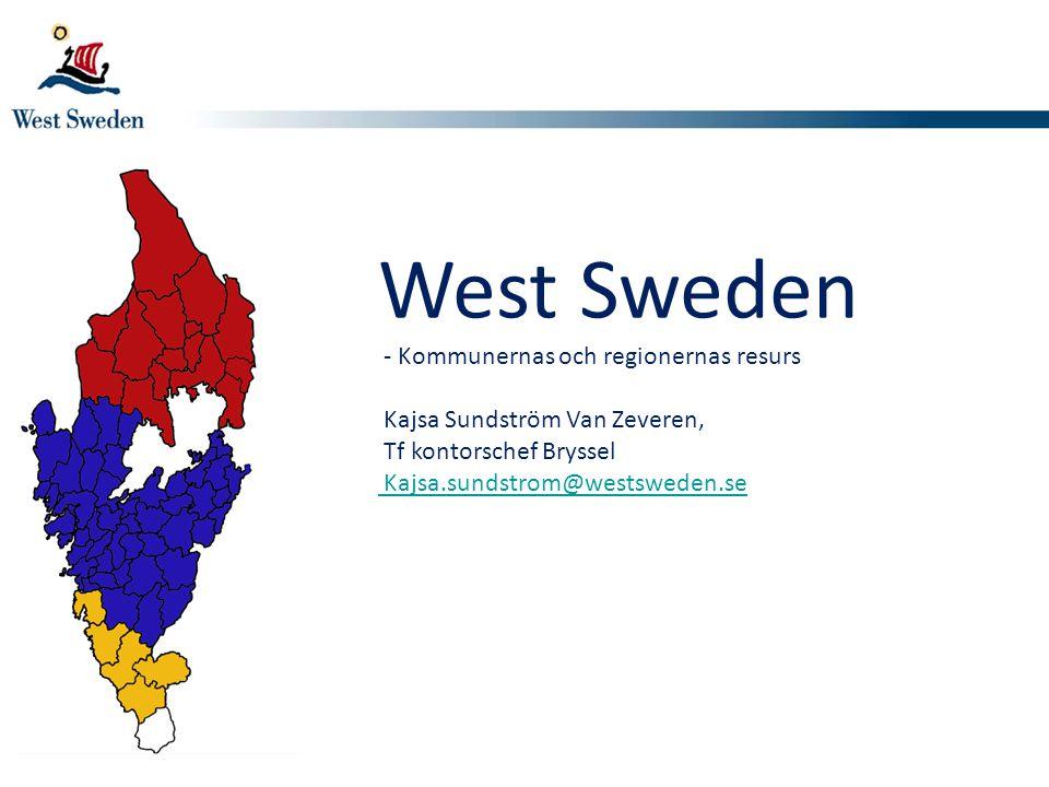 West Sweden Kajsa Sundström Van Zeveren, Tf kontorschef Bryssel