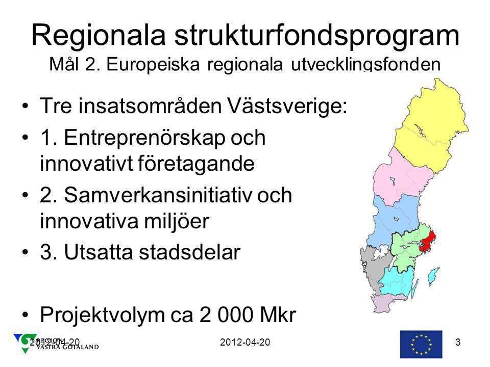 Regionala strukturfondsprogram Mål 2