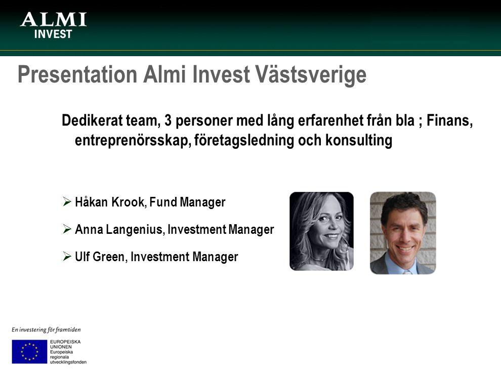 Presentation Almi Invest Västsverige