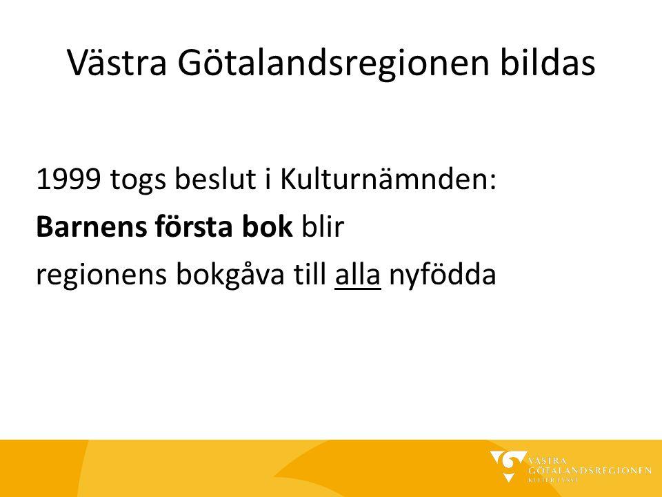 Västra Götalandsregionen bildas