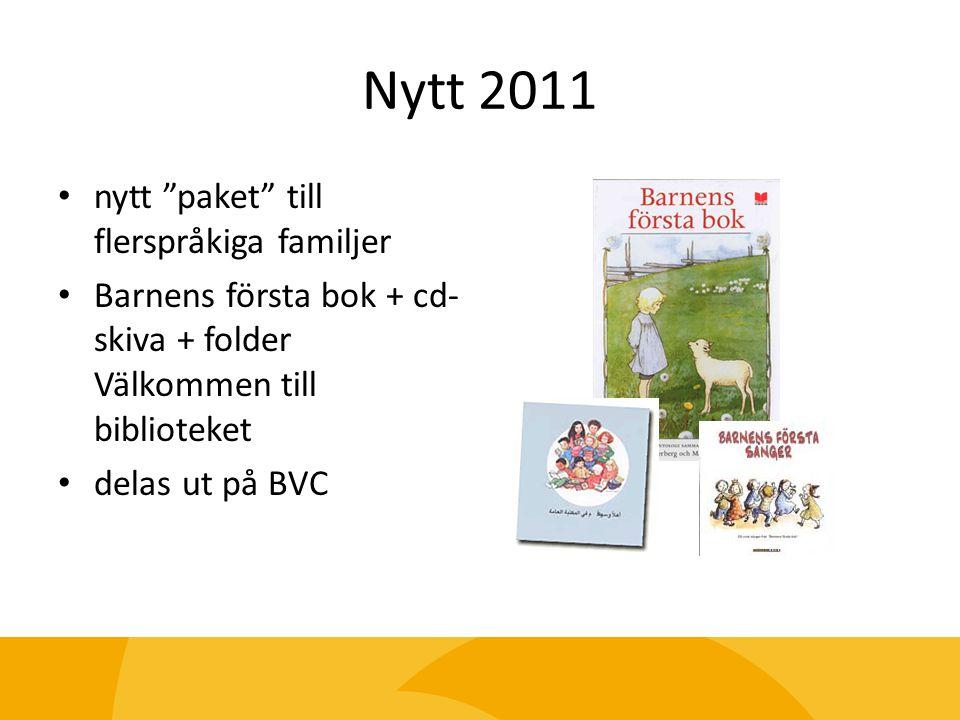 Nytt 2011 nytt paket till flerspråkiga familjer