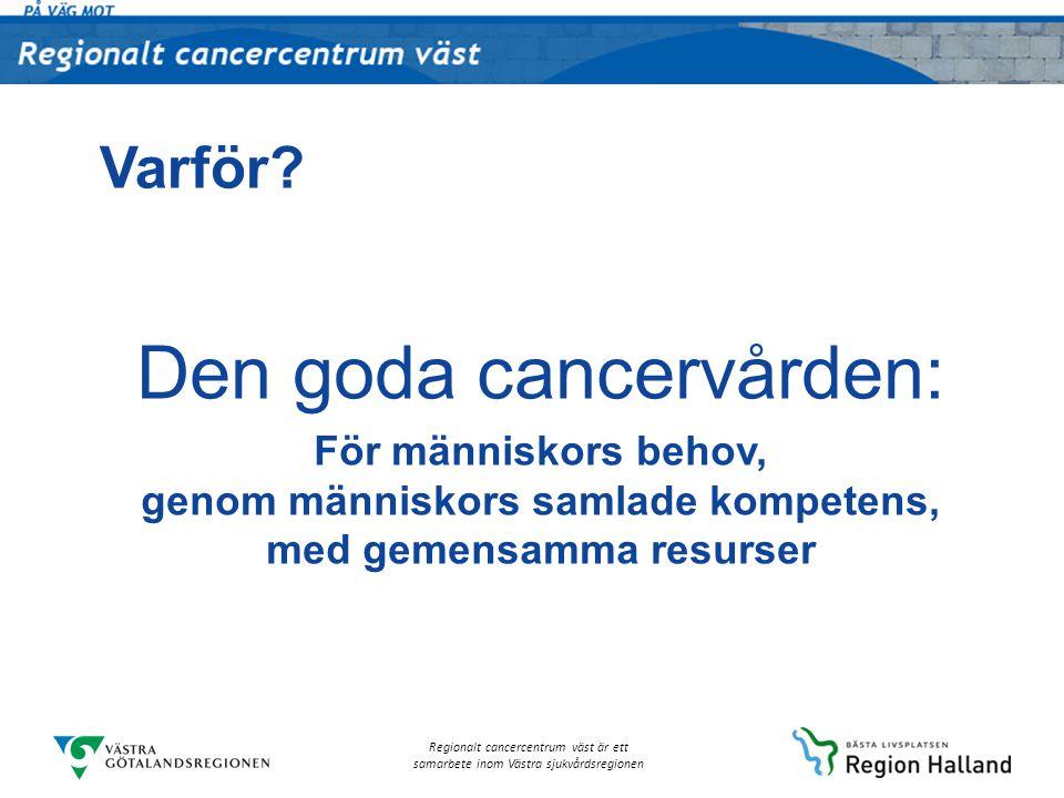 Den goda cancervården: