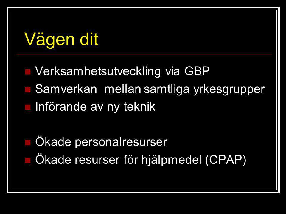 Vägen dit Verksamhetsutveckling via GBP