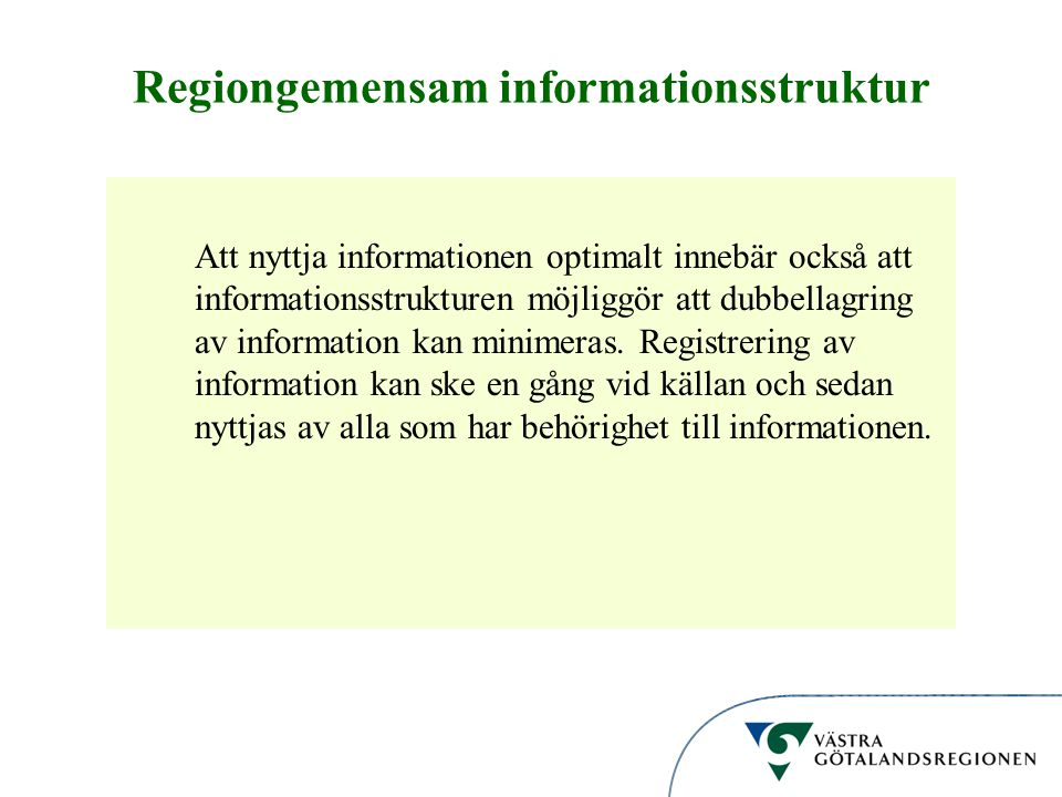 Regiongemensam informationsstruktur