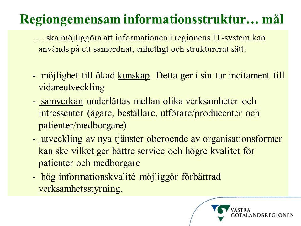 Regiongemensam informationsstruktur… mål