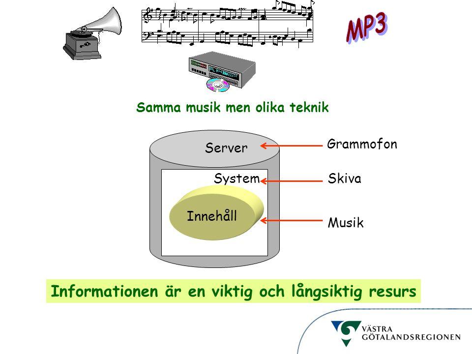 MP3 Informationen är en viktig och långsiktig resurs