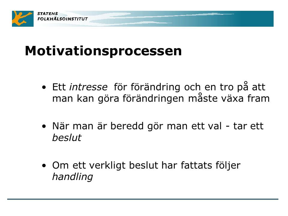 Motivationsprocessen
