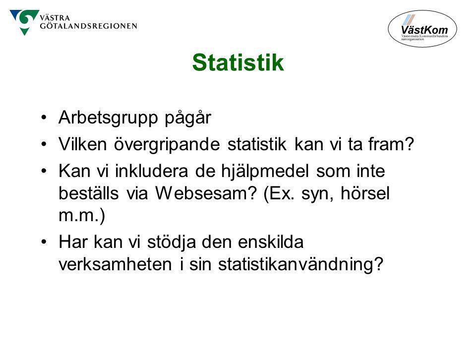 Statistik Arbetsgrupp pågår