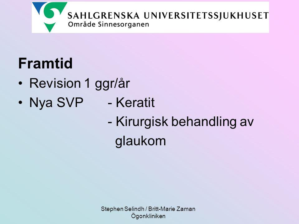 Stephen Selindh / Britt-Marie Zaman Ögonkliniken
