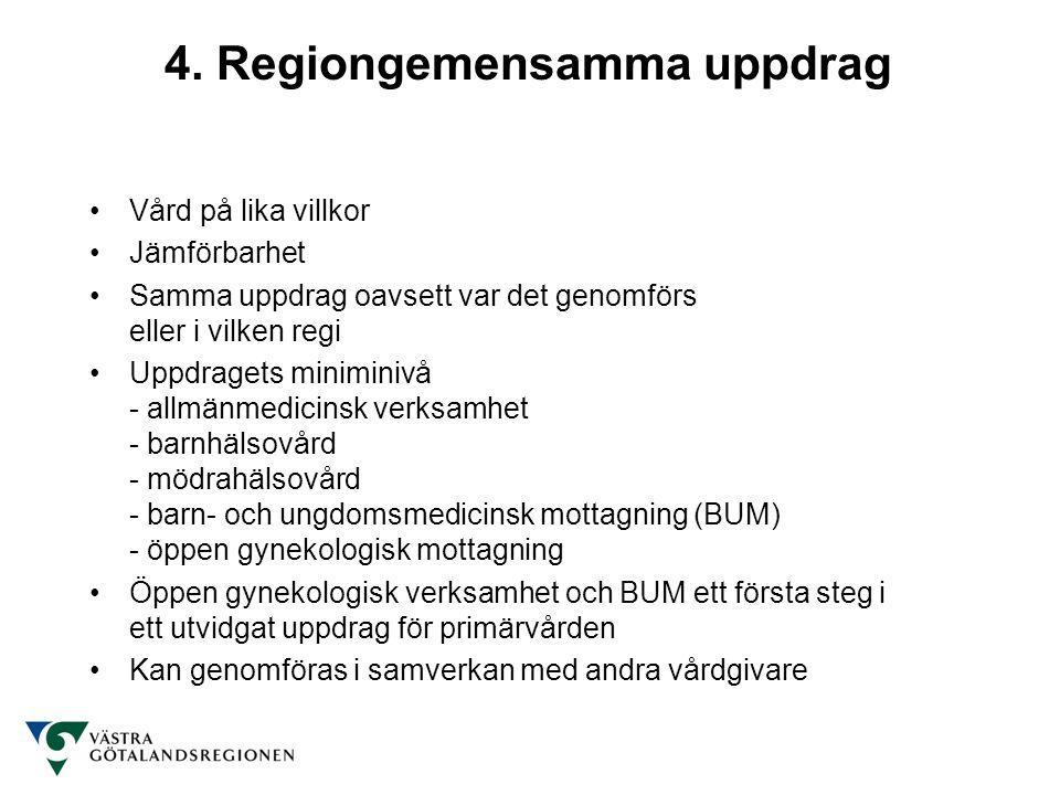 4. Regiongemensamma uppdrag