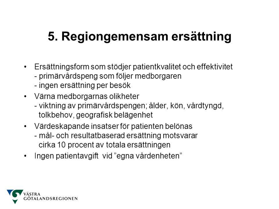 5. Regiongemensam ersättning