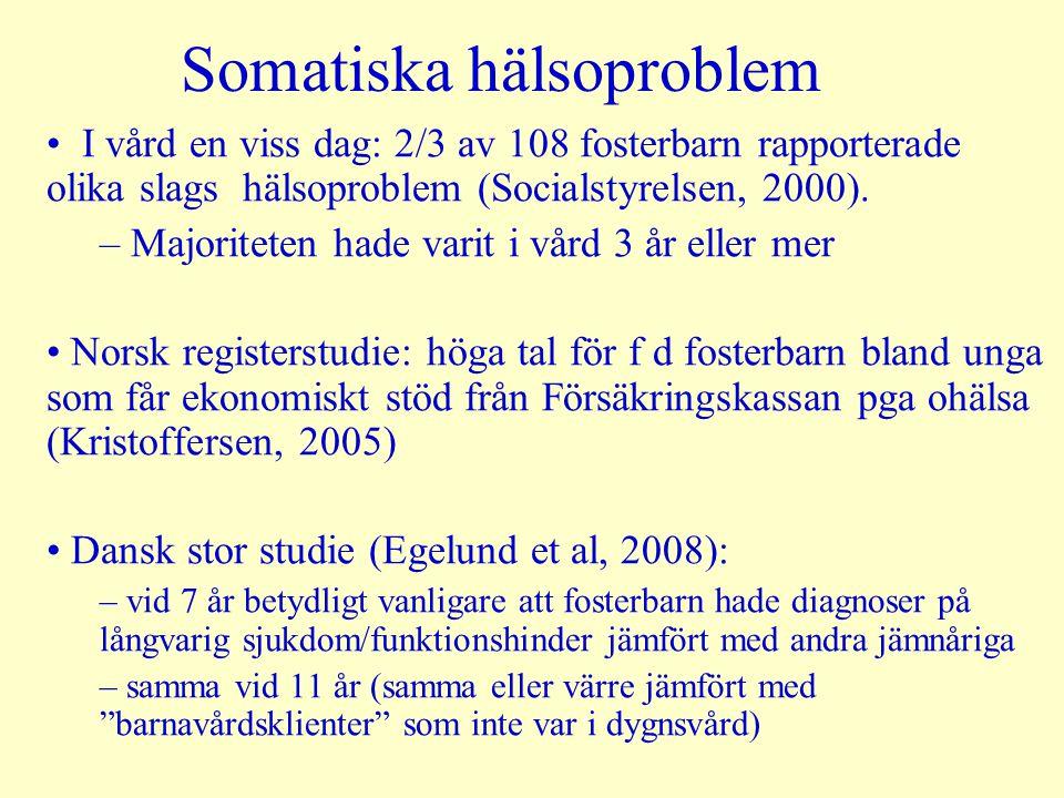 Somatiska hälsoproblem