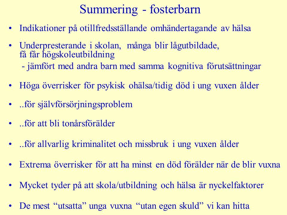 Summering - fosterbarn