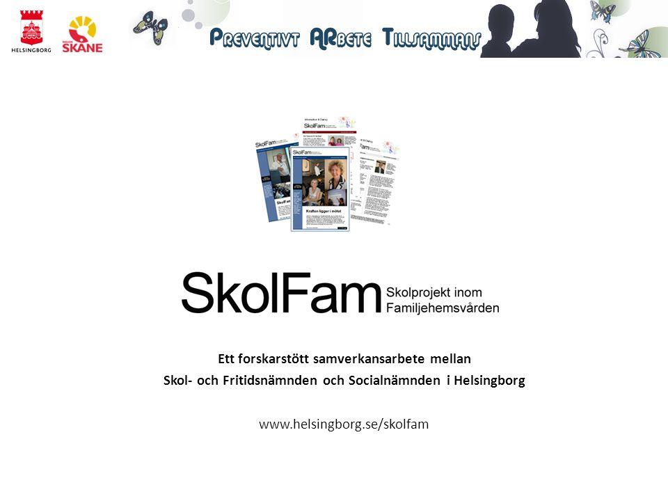 Ett forskarstött samverkansarbete mellan Skol- och Fritidsnämnden och Socialnämnden i Helsingborg