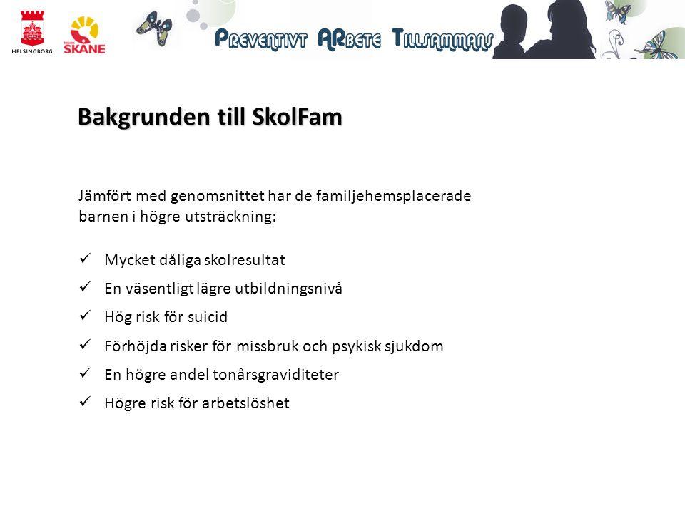 Bakgrunden till SkolFam