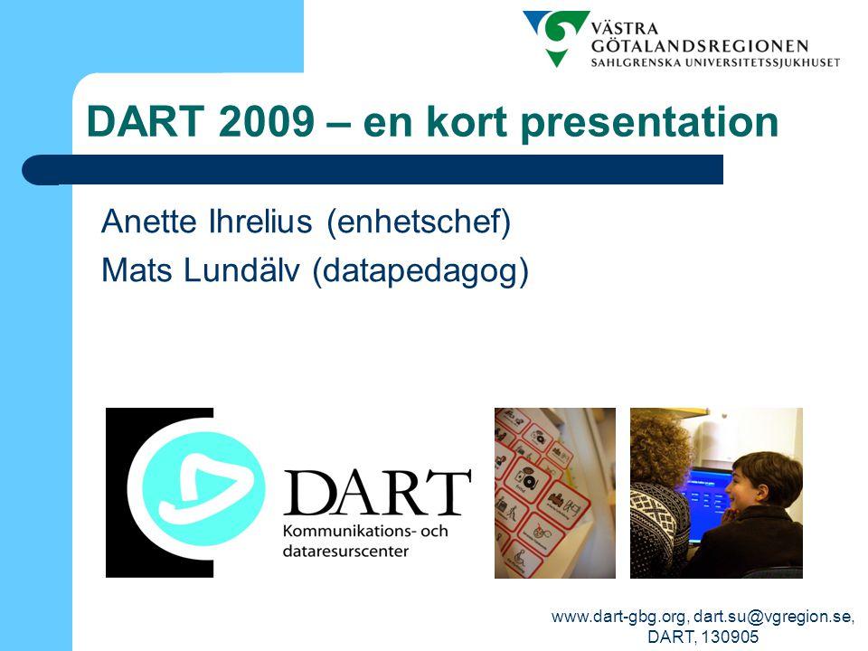 DART 2009 – en kort presentation