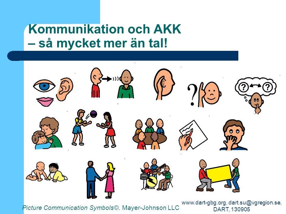 Kommunikation och AKK – så mycket mer än tal!