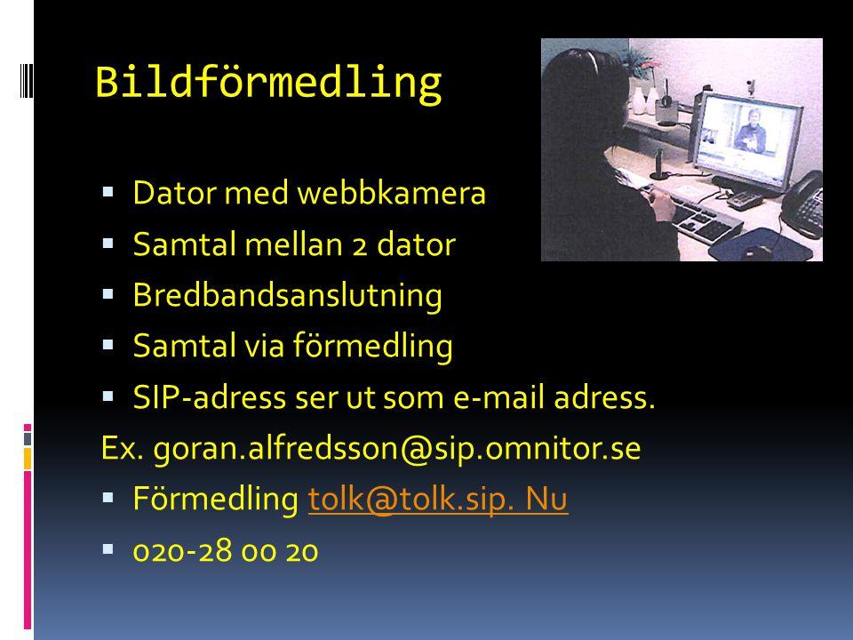 Bildförmedling Dator med webbkamera Samtal mellan 2 dator