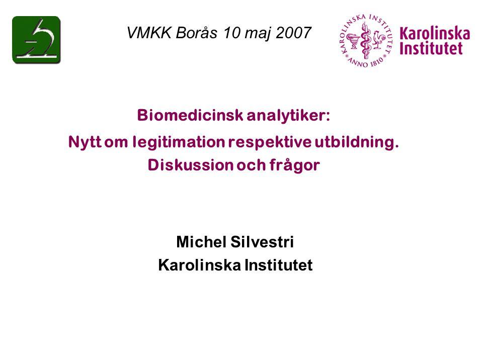 Biomedicinsk analytiker: