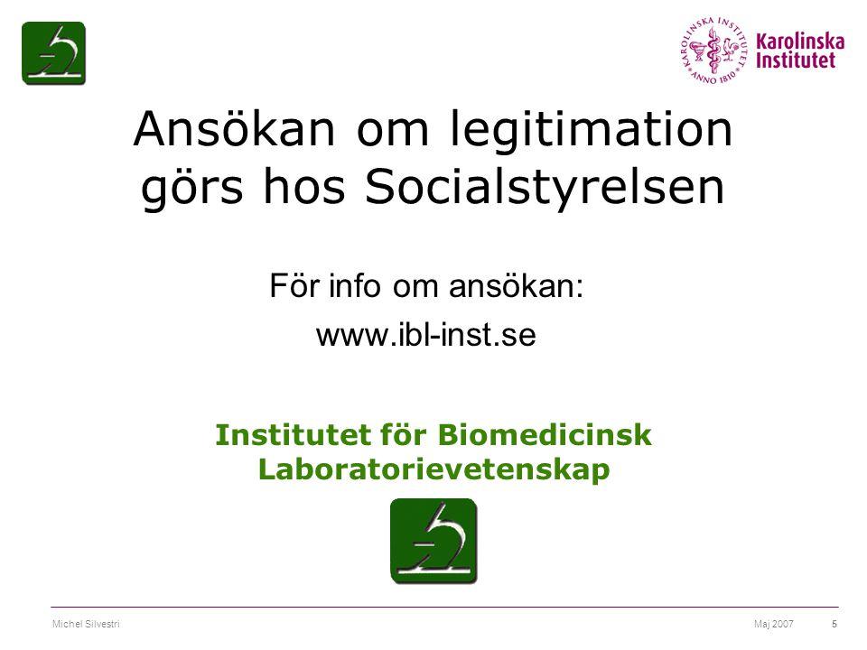 Institutet för Biomedicinsk Laboratorievetenskap