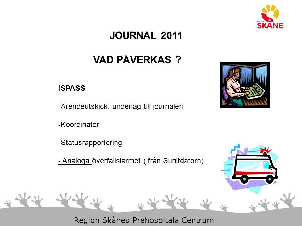 JOURNAL 2011 VAD PÅVERKAS ISPASS