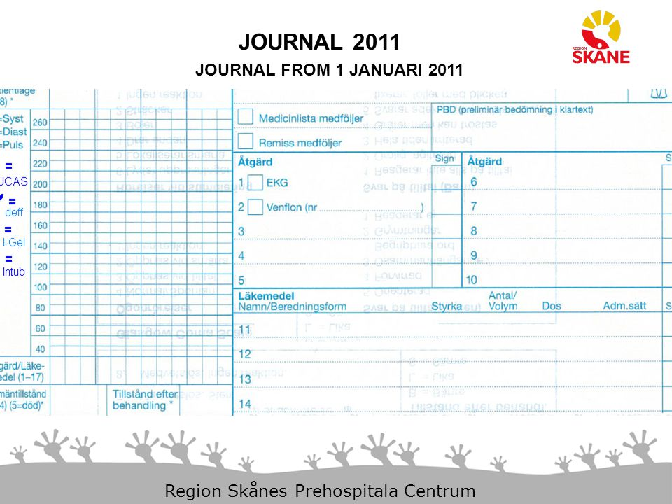 JOURNAL 2011 JOURNAL FROM 1 JANUARI 2011