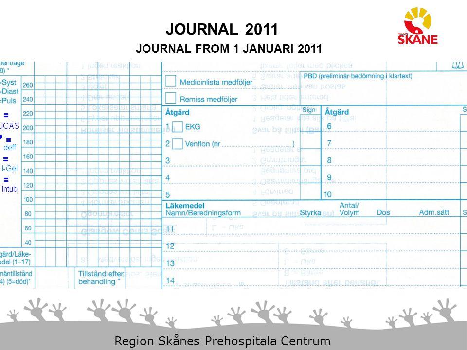 JOURNAL 2011 JOURNAL FROM 1 JANUARI 2011